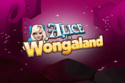 Alice in Wongaland online slots by PocketWin mobile casino