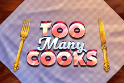 Too Many Cooks Online Slots at PocketWin Online Casino - game grid image