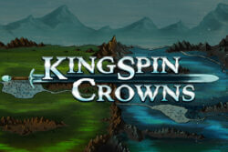 Kingspin Crowns Online Slots at PocketWin Online Caisno - game grid image