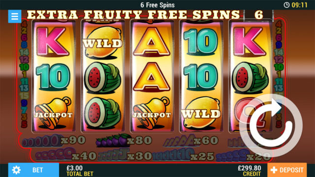 Money Ladder Online Slots at PocketWin Online Casino - In game image