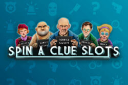 Spin A Clue Slots Online Slots at PocketWin Online Casino - game grid image