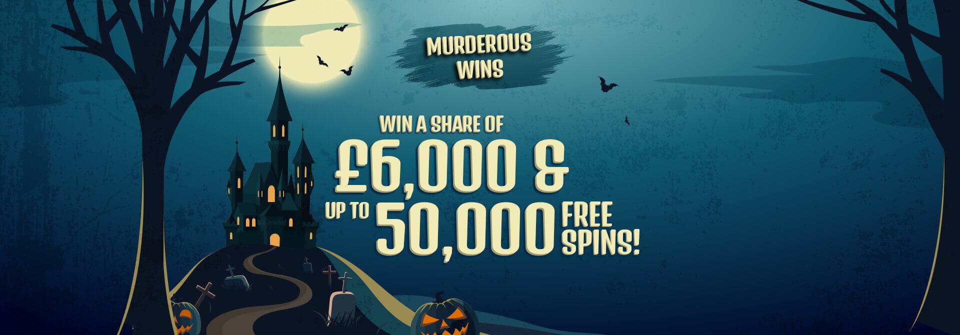 Our Murderous Wins Halloween Prize-Winners!
