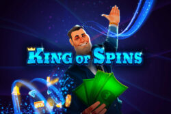 King of Spins online slots at Pocketwin online casino