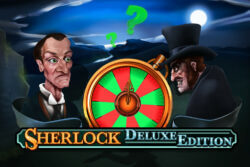 Sherlock Deluxe Edition online slots at PocketWin online casino - Game of the Month