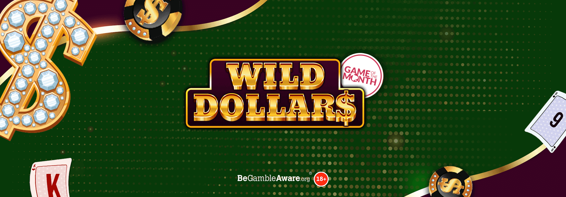 It's time to visit the bright lights of Las Vegas in Wild Dollars Online Slots!