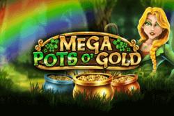 Mega Pots O' Gold online slots at PocketWin Casino - game grid