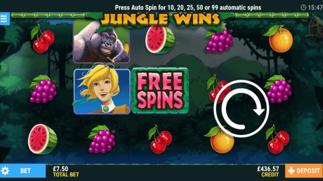 Jungle Wins online slots - fruit machine