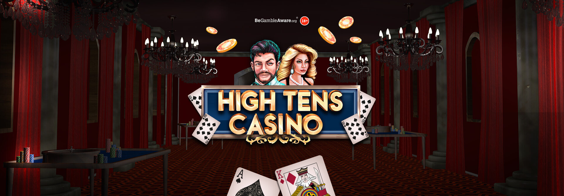 Place your bets at High Tens Casino online slots