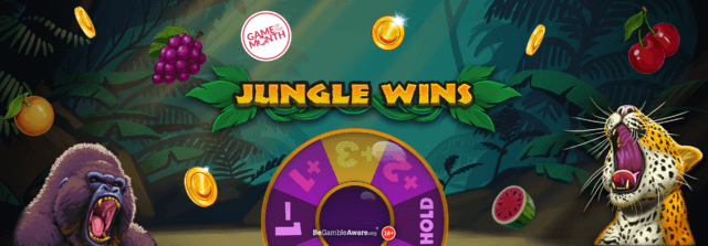 Will you be the top banana with fruity new online slot game – Jungle Wins – in June 2021?