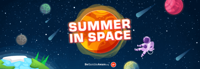 Did you take a trip to space with an astronomical share of 50,000 Free Spins?