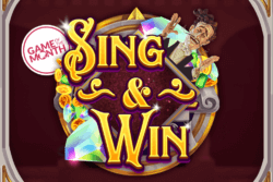 Sing and Win online slots by PocketWin Mobile Casino