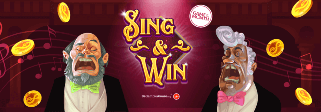 Will you win some tenor-ific prizes with Sing & Win online slot?